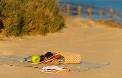 Todavía de la playa vida Fotos de archivo
