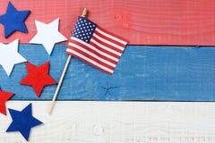 Todavía de la tabla vida patriótica Foto de archivo libre de regalías