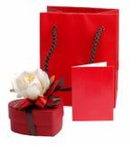 Todavía de la tarjeta del día de San Valentín vida Fotos de archivo