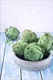 Todavía de las alcachofas herzios de la vida Fotos de archivo libres de regalías