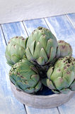 Todavía de las alcachofas vida Fotografía de archivo