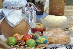Todavía de Pascua vida Fotografía de archivo