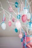 Todavía de Pascua vida con los huevos Imagenes de archivo