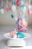 Todavía de Pascua vida con los huevos Imágenes de archivo libres de regalías