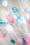 Todavía de Pascua vida con los huevos Fotos de archivo libres de regalías