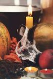 Todavía de Víspera de Todos los Santos vida Foto de archivo libre de regalías