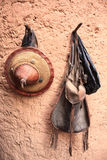 Todavía del africano vida Foto de archivo libre de regalías