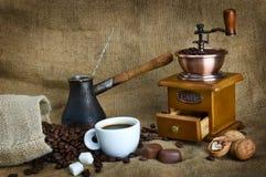 Todavía del café vida Imagen de archivo libre de regalías