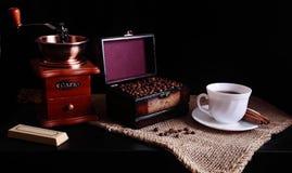 Todavía del café vida Fotos de archivo libres de regalías