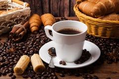 Todavía del café vida con la taza de café Imagenes de archivo