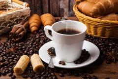 Todavía del café vida con la taza de café Imagen de archivo