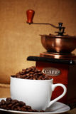 Todavía del café vida oscura Imagen de archivo
