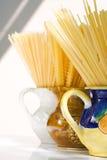 Todavía del espagueti vida Fotos de archivo libres de regalías