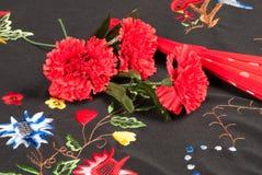 Todavía del flamenco vida en rojo Fotos de archivo libres de regalías