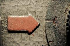 Todavía del grunge flecha de vida única Imagen de archivo
