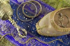 Todavía del indio vida con joyería Imágenes de archivo libres de regalías