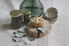 Todavía del otoño vida con queso Imagenes de archivo