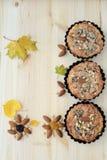 Todavía del otoño vida en una tabla de madera Fotografía de archivo