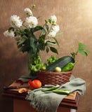 Todavía del país vida con las verduras Imagen de archivo libre de regalías