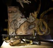 Todavía del pirata vida Fotografía de archivo