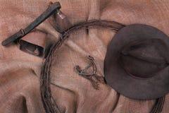Todavía del vaquero vida Fotos de archivo libres de regalías