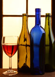 Todavía del vino tonos calientes de la vida Imagen de archivo