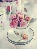 Todavía del vintage vida con las rosas secas Fotos de archivo
