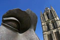 Todavía la vida de la escultura y del campanario, enoja Imágenes de archivo libres de regalías