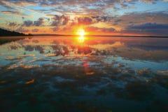 Todavía lago Fotografía de archivo