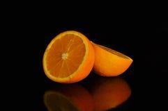 Todavía naranja de la vida, anaranjada Imagen de archivo libre de regalías