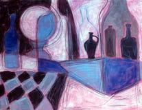 Todavía pintura de la vida Imagen de archivo libre de regalías