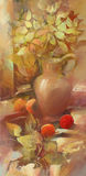 Todavía pintura hecha a mano de la vida Fotografía de archivo libre de regalías