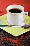 Todavía taza de café Imagen de archivo