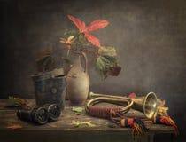 Todavía temporada de caza del otoño de la vida Imagenes de archivo