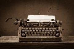 Todavía tipo escritor de la vida Foto de archivo libre de regalías