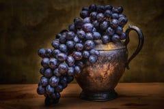 Todavía uvas naturales de la vida Foto de archivo