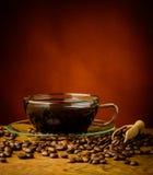 Todavía vida con café Fotos de archivo libres de regalías