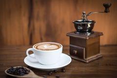 Todavía vida con café Imagenes de archivo