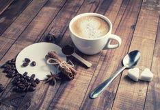 Todavía vida con café Imágenes de archivo libres de regalías