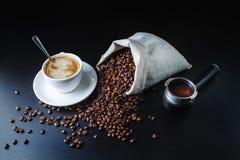 Todavía vida con café Foto de archivo libre de regalías