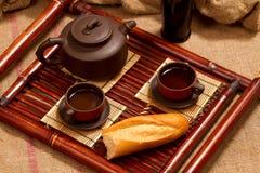Todavía vida con té Imagen de archivo libre de regalías