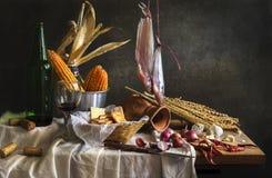 Todavía vida con el cocinero Imagen de archivo libre de regalías