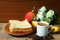 Todavía vida con el desayuno sano Imagen de archivo