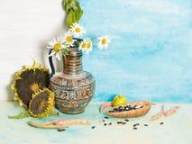 Todavía vida con el Griego del jarro Foto de archivo libre de regalías