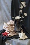 Todavía vida con el ramo del lunaria Imagen de archivo libre de regalías