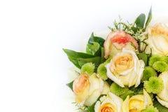 Todavía vida con el ramo hermoso de las rosas Imagenes de archivo