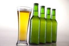 Todavía vida con la cerveza Imagenes de archivo