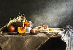 Todavía vida con la cocina Imagen de archivo libre de regalías