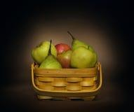 Todavía vida con la fruta Foto de archivo