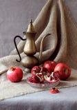 Todavía vida con la fruta Imagen de archivo libre de regalías